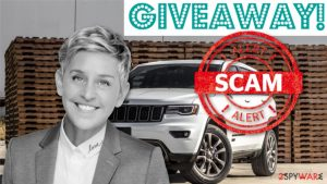 Fake Ellen DeGeneres social media giveaways offer prizes for likes