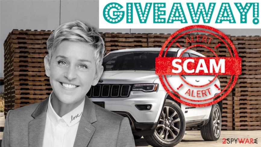 Fake Ellen giveaway spreads on Facebook