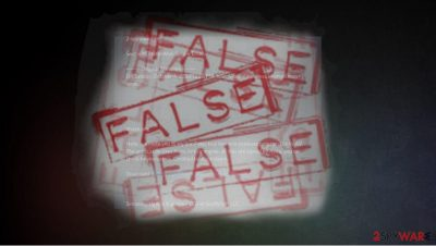 False claims about 2-spyware and site creators
