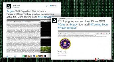 FBI website hacked again