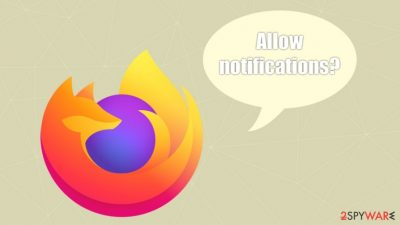 Firefox to block notification prompts from 2020