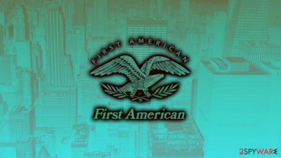 First American leaked sensitive data of its customers