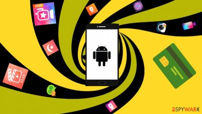 Fleeceware apps downloaded from Google Play