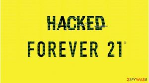 Criminals hacked point-of-sale terminals of Forever 21