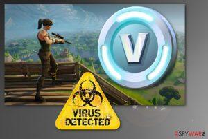Fortnite virus infects 78 000 computers via V-bucks app