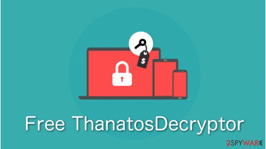 IT experts released free Thanatos ransomware decryption tool