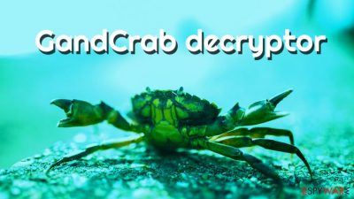 GandCrab decryptor released by Bitdefender