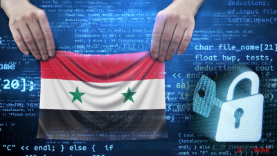 Gandcrab releases the decryption key for Syrian users