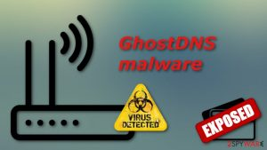 GhostDNS malware hacked over 100,000 home routers