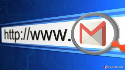 Image of Gmail phishing campaign