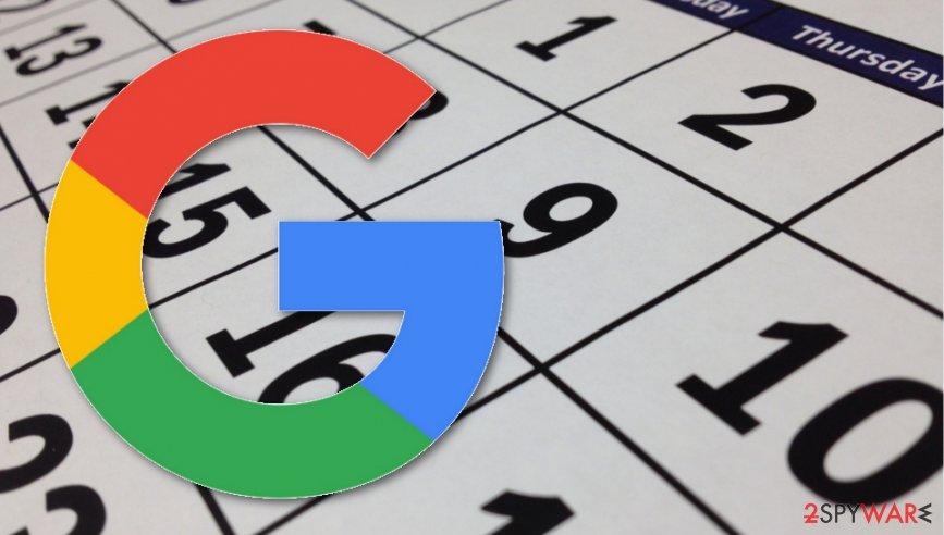 Google Calendar scam investigation