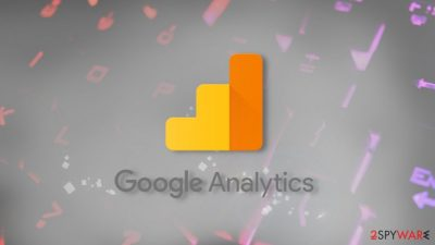 The attack uses Google's web analytics service