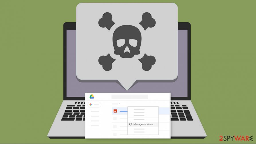 The security bug in Google Drive can allow malware distribution