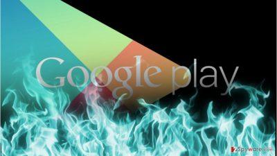 Ransomware assaults Google Play store