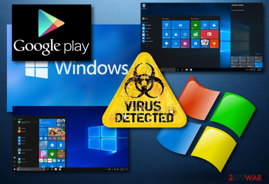 Google Play Store Android programs include Windows malware
