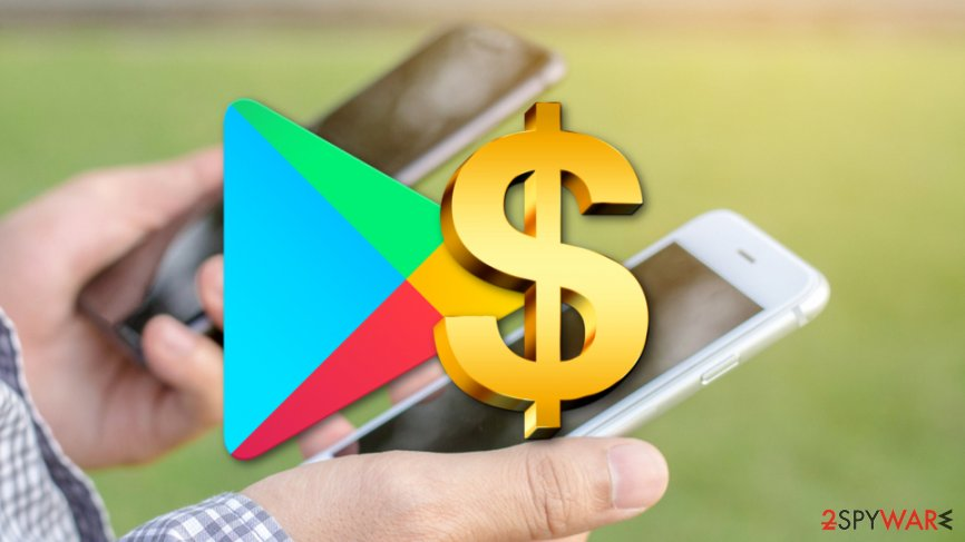 Google deletes Play Store apps that charge Android users with big fees