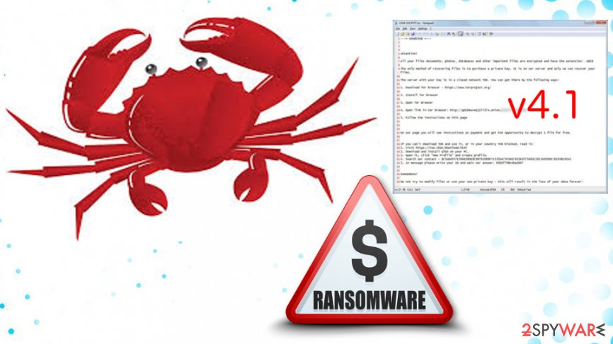 GandCrab V4.1 ransomware is using SMB exploit to spread around