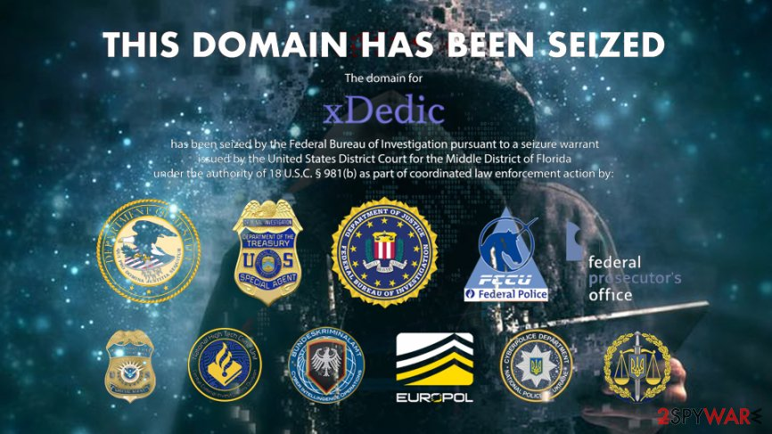 Hacked server marketplace xDedic seized in the international operation