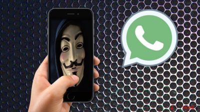 Video call on WhatsApp from hacker