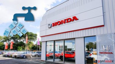 Honda Motor Company leaks 40 GB of crucial system information
