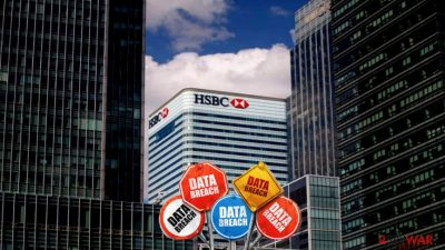 HSBC bank admits they encountered data breach