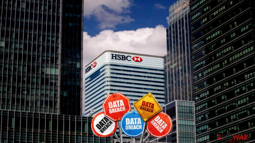 HSBC bank admits they encountered data breach