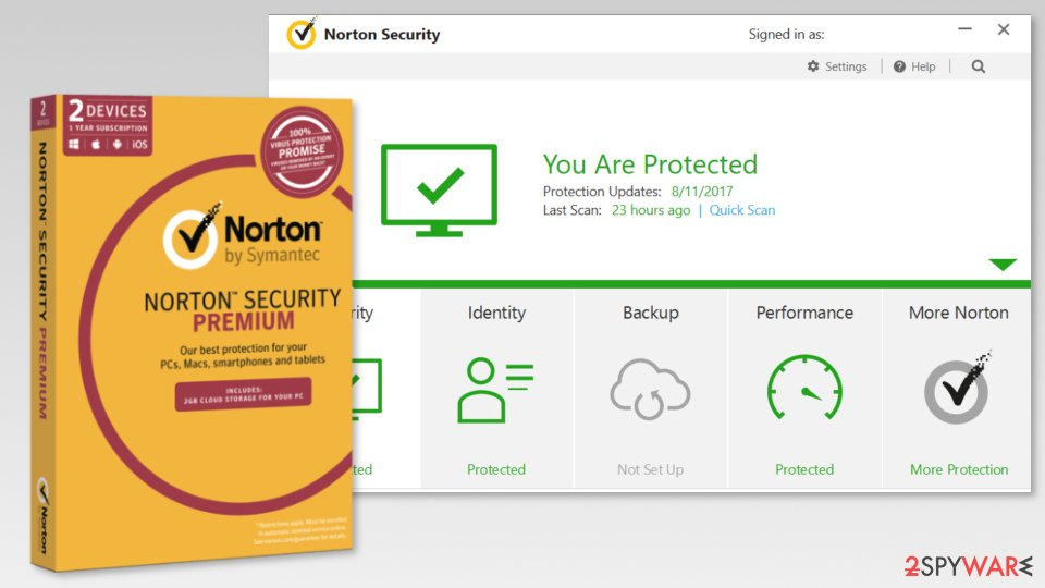 The image of Symantec Norton Security Premium