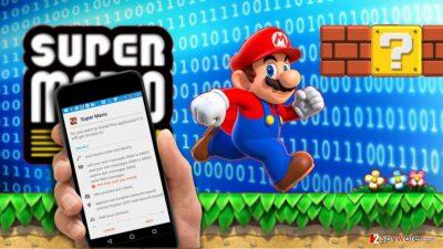 Super Mario Run APK virus image