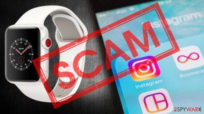 Instagram Apple watch scam