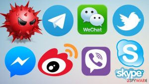 New virus steals data from various instant messaging apps