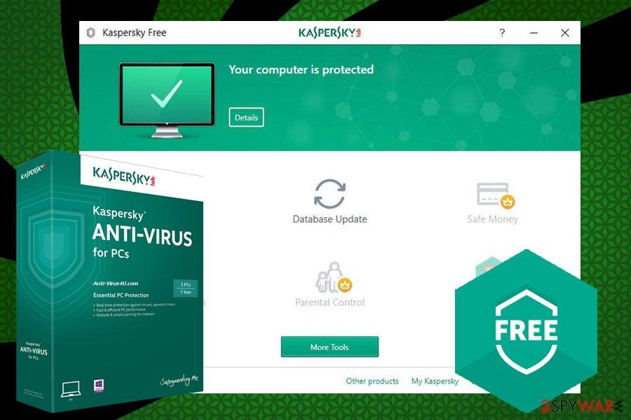 Kaspersky anti-virus Free