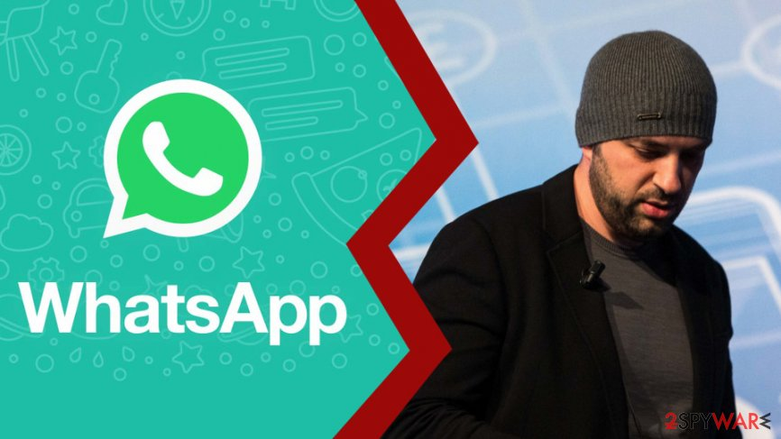 Koum leaving WhatsApp and Facebook