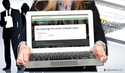 LinkedIn scam seeks to collect victims' CVs