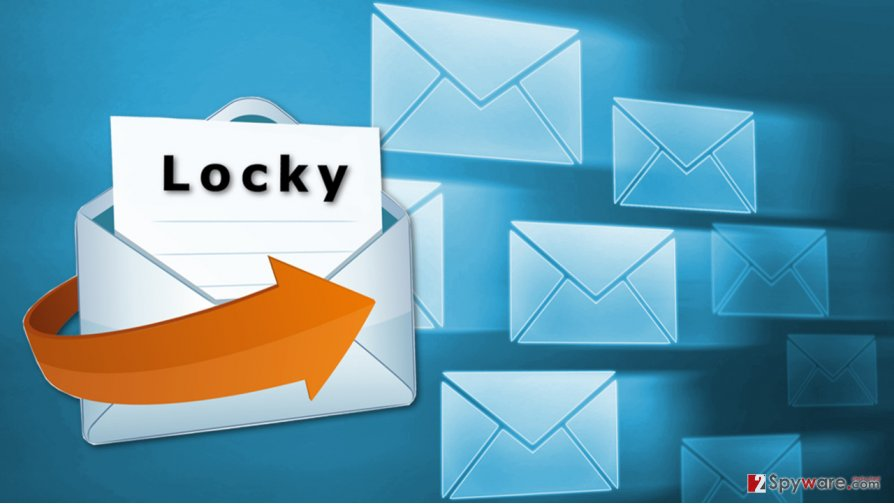 Locky ransomware started spreading again via malicious spam emails