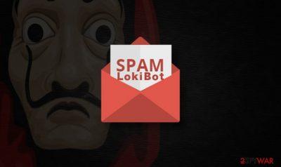 LokiBot trojan spreads Jigsaw