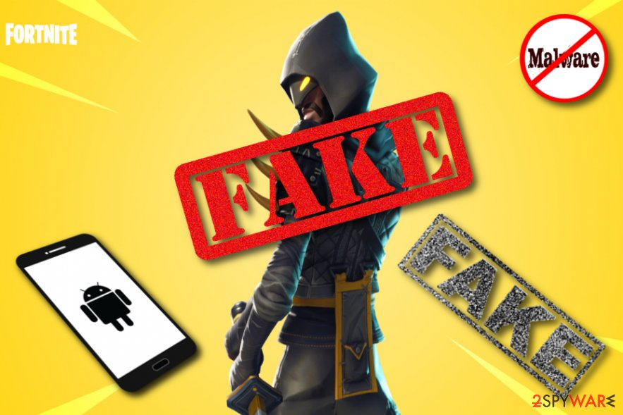 Malware loads instead of Fortnite on Androids