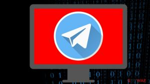 Malware is capable of stealing data from a desktop version of Telegram