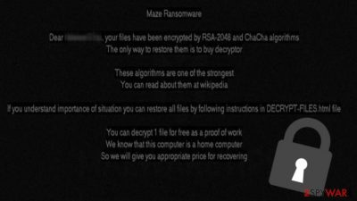 Maze ransomware encrypts 245 computers of a Canadian insurance company