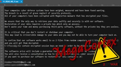 In the ransomware field: unique MegaCortex targets Sophos customers