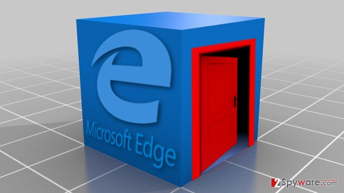 Image of Microsoft Edge Tech support scam