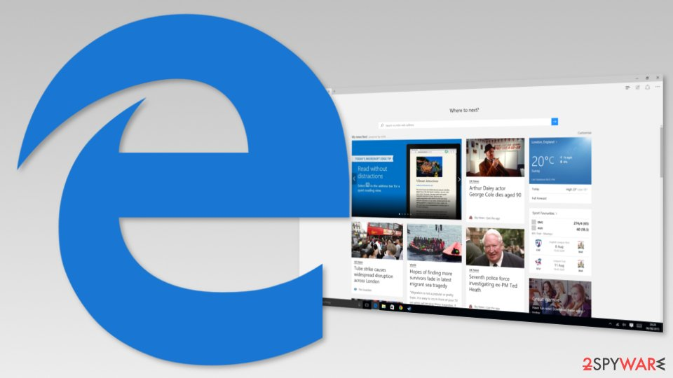 The Most Secure Browser - Microsoft Edge