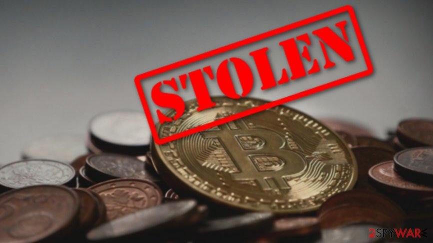 Million dollars in Bitcoin got stolen after a phishing attack