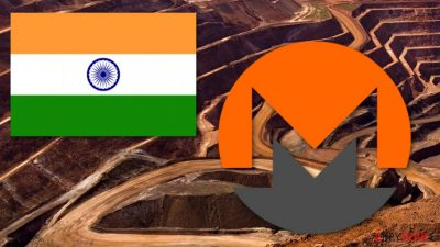 Indian websites mine cryptocurrency using visitors' PC resources