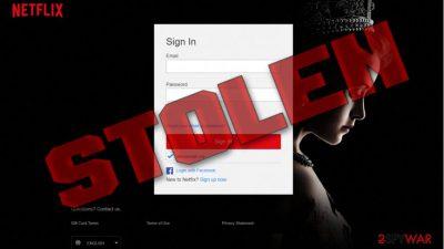 Netflix phishing emails