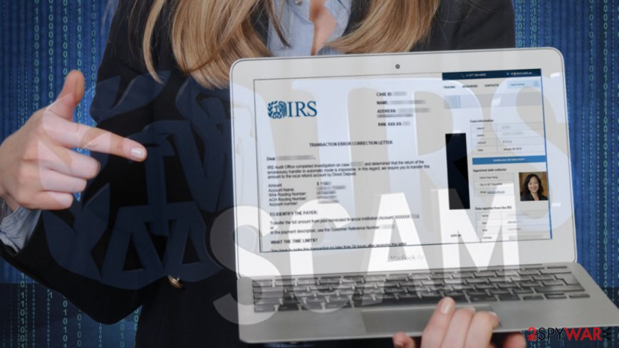 pics How to Report IRS Scams