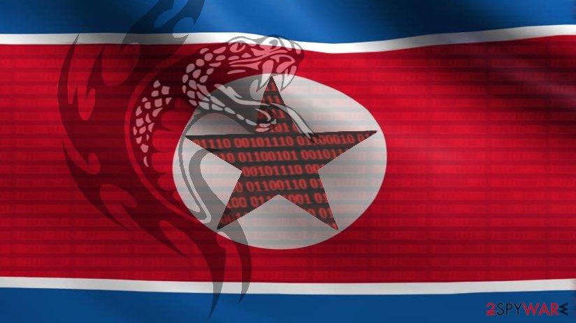 DeltaCharlie North Korean virus illustration