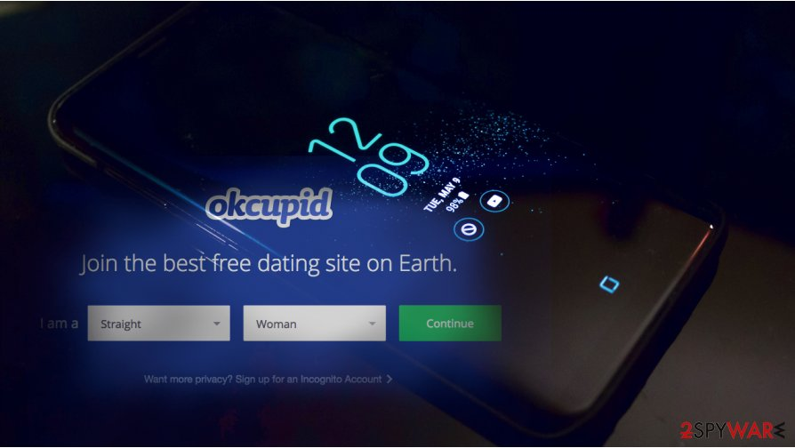 OkCupid application can be used for spying