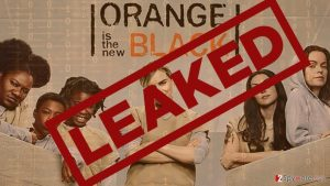 "Hackers leaked the 5th season of ""Orange is the new black"""