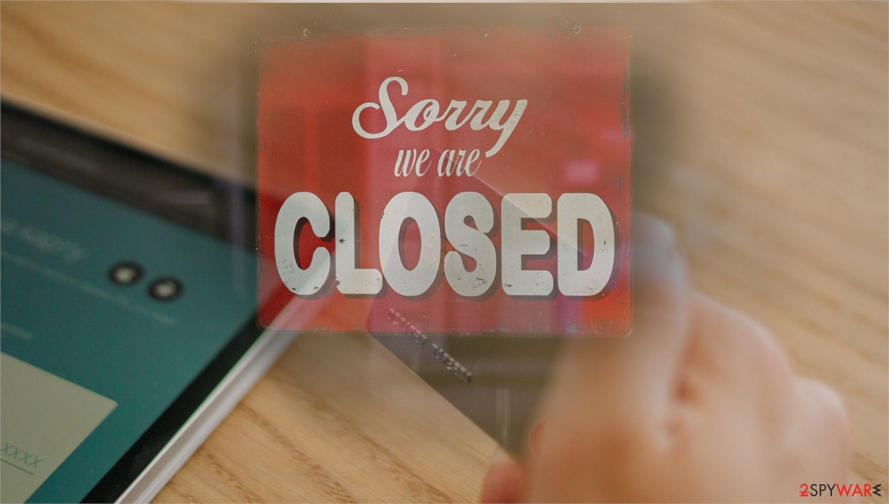 Closed stores opens online shopping options