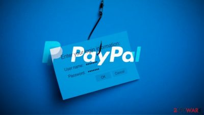 PayPal scam message on Twitter